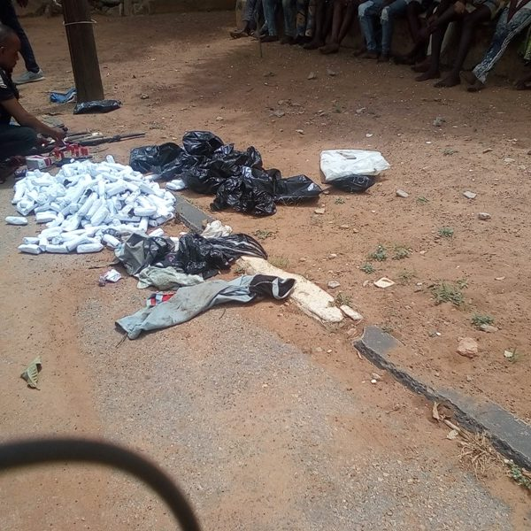 Kwara Police Parades 16 Suspected Cultists, Arms Recovered