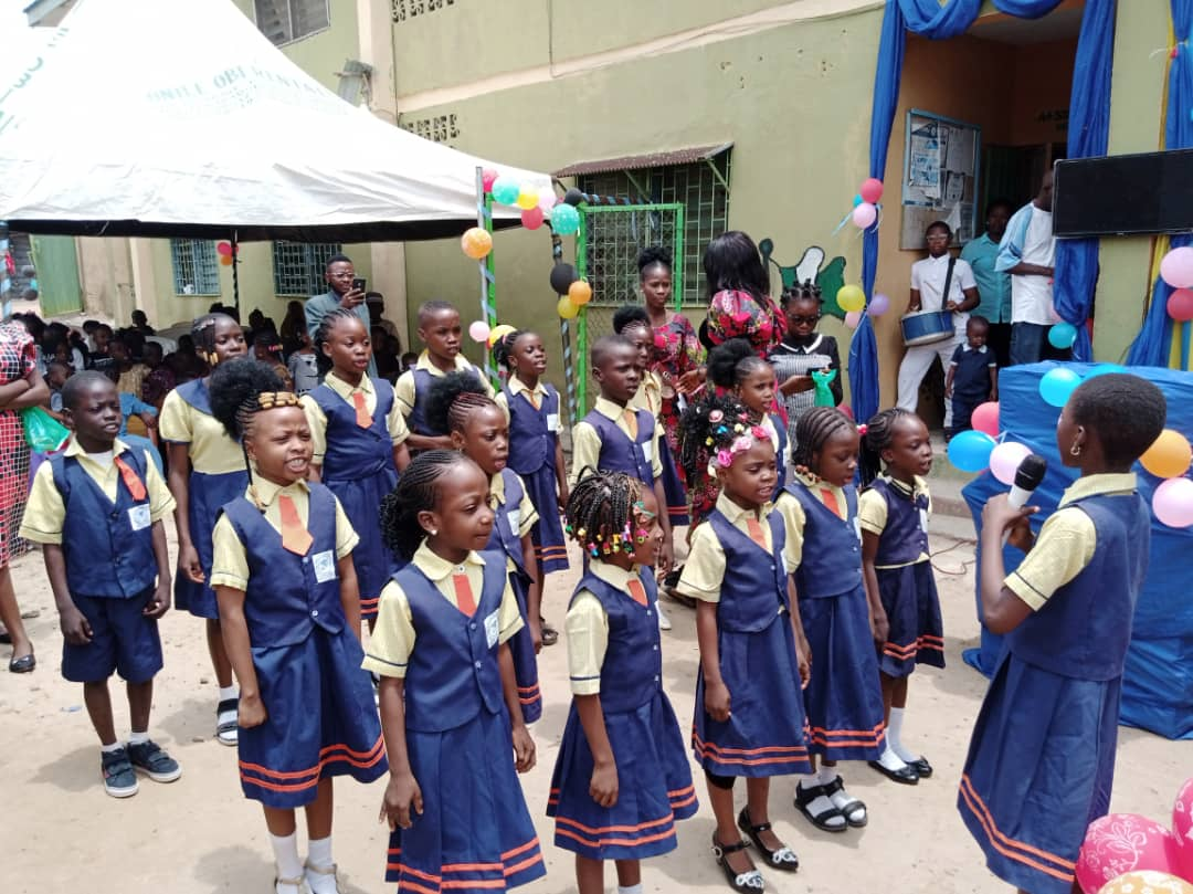 Students of A+ Solid Foundation School, Ilorin